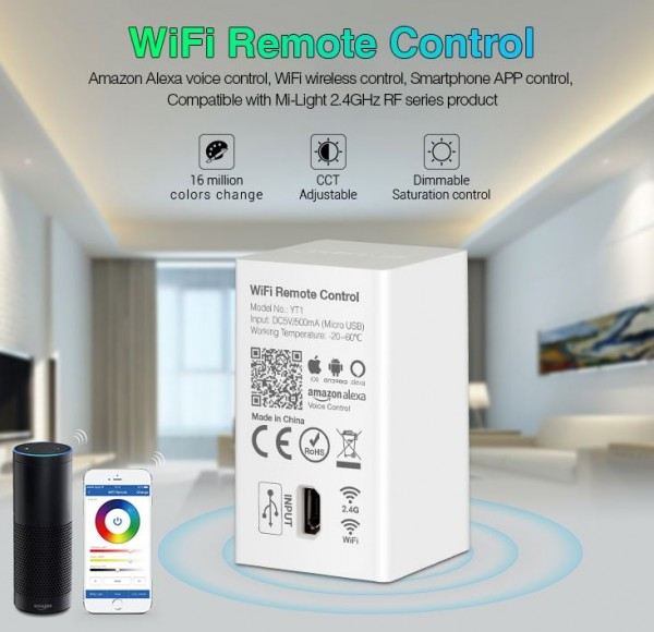 Synergy 21 LED Fernbedienung WiFi Remote Control *Milight/Miboxer* Alexa Serie