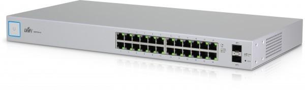 Ubiquiti UniFi Switch 24, 24 Gigabit RJ45 Ports, 2 SFP Ports