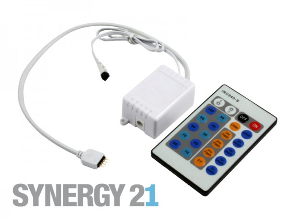Synergy 21 LED Flex Strip zub. Single Color Controller DC24V IR 72W