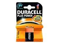 Batterien 9V-Block *Duracell* Plus Power