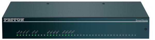 Patton SmartNode 4151 VoIP-Gateway, 4 BRI, 4 FXS, 4 VoIP-Calls