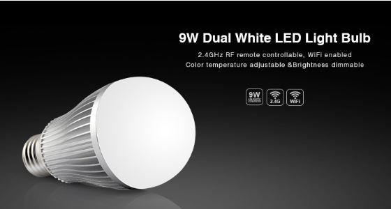 Synergy 21 LED Retrofit E27 9W dual white (CCT) Lampe mit Funk Milight/Miboxer*