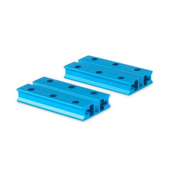 """Makeblock """"Slide Beam 0824-048 Blue (Pair)"""" / 2x Gleitschiene 0824-048 für MINT Roboter"""