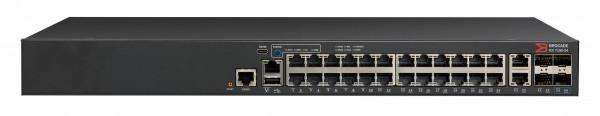 Brocade ICX 7150 Switch 24x 10/100/1000 ports, 2x 1G RJ45 uplink-ports, 4x 10G SFP+
