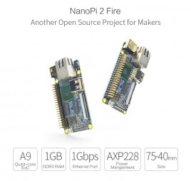 FriendlyELEC NanoPi 2 Fire - QuadCore Samsung S5P4418 Cortex-A9, 400Mhz-1,4Ghz