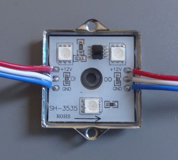 Synergy 21 LED pixel Module RGB DC12V IP65 WS2811