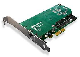 Sangoma 1xPRI/E1 PCIe Karte A101DE mit Echo Unterdrückung