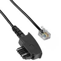 Kabel TK TAE-Verbindung 10 m, TAE-N/RJ12K5400.10, TAE N-Steck