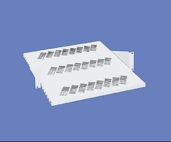 Knürr zub.Zwischenboden, verstellbar, 2HE, T480mm, Lichtgrau