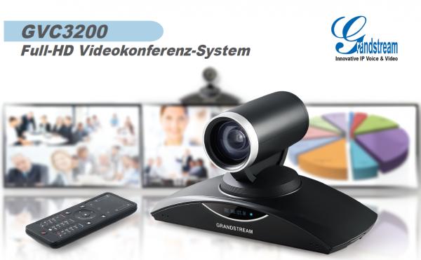 Grandstream VC GVC3200 Android Videokonferenzsystem inkl. GA
