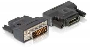 Delock Adapter DVI Stecker => HDMI Buchse,