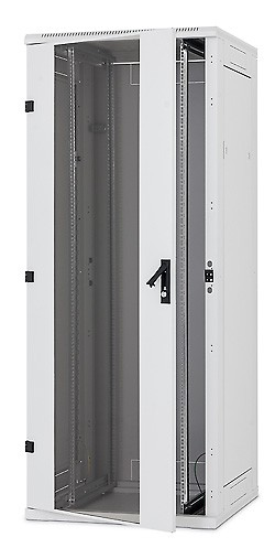 "Triton 19""Schrank 42HE, B800/T1000, Lichtgrau, bis 1200Kg,"