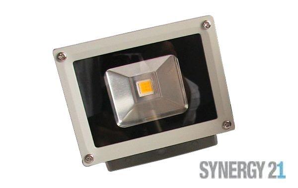 Synergy 21 LED Spot Outdoor Baustrahler 10W graues Gehäuse - kaltweiß V2