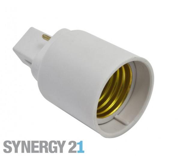 Synergy 21 LED Adapter für LED-Leuchtmittel G24->E27