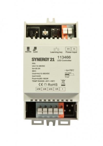 Synergy 21 LED Controller EOS 05 4-Kanal Controller + Hutschiene