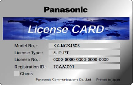 Panasonic KX-NCS 4508WJ 8 IP-SYSTEL