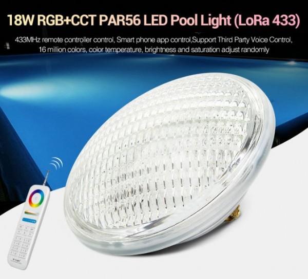 Synergy 21 LED LoRa (433MHZ) Poolleuchte 18W RGB+CCT *Milight/Miboxer*