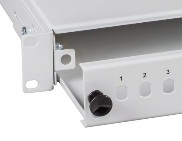 LWL-Patchpanel, zub. Ersatz Schnellverschluss für Spleissboxen
