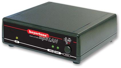 Beyertone musiphone mp3 LAN PoE