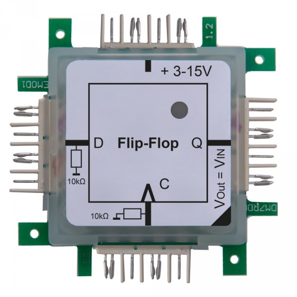 ALLNET Brick'R'knowledge Logik D Flip-Flop