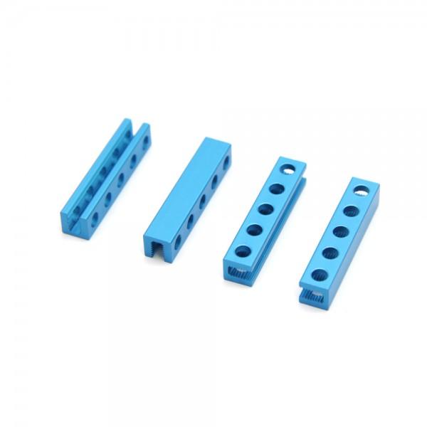 "Makeblock ""Beam 0808-024 Blue (4-Pack)"" / 4x Verbindungsprofil 0808-024 für MINT Roboter"