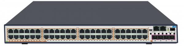 ZTE Switch Stackable Layer 3 48x Gigabit RJ45 + 4x Combo 1GB SFP/10GB SFP+ slot und 1x Netzteil