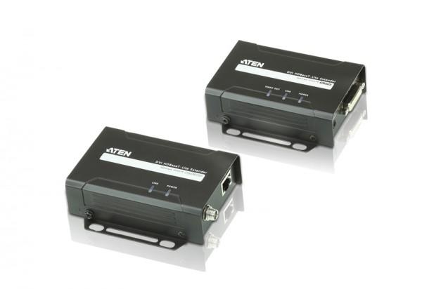 Aten Video/Audio-Extender,35/70mtr., DVI, Sender/Empfänger-Set, (1080p bei 70 m)
