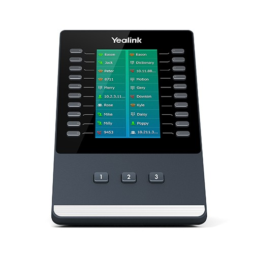 Yealink SIP zub. Extension EXP50 LCD-Color-screen Keypad mit