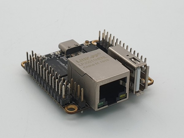 Rock Pi S - 512 MB, mit BT und WiFi, POE ready (POE HAT möglich)