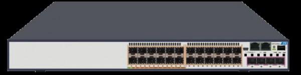 ZTE Switch Stackable Layer 3 24x SFP ports und 4x Combo 1GB SFP/10GB SFP+ slot und 1x Netzteil