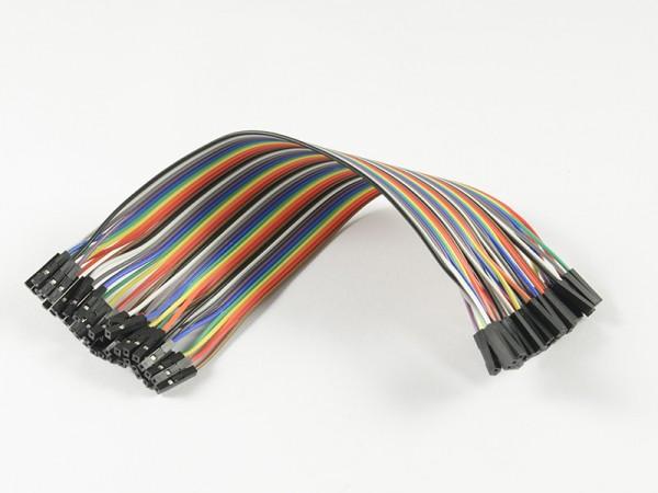 ALLNET 4duino Kabel Dupont 40 PIN 20 Zentimeter Buchse-Buchse
