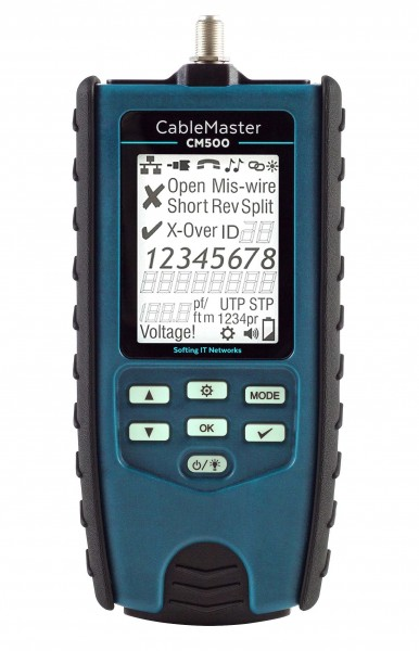 softing(Psiber) CableMaster 550, mit Kabellängenmessung, * Bundel*