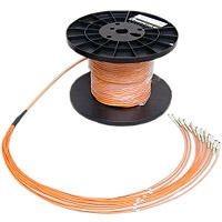 LWL-Kabel 24G, innen, breakout, 62,5/125u,