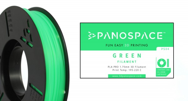 Panospace - Filament PLA green grün 1,75mm
