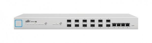 Ubiquiti UnifiSwitch 16, 12 SFP+ Ports, 4 RJ45 Ports, US-16-