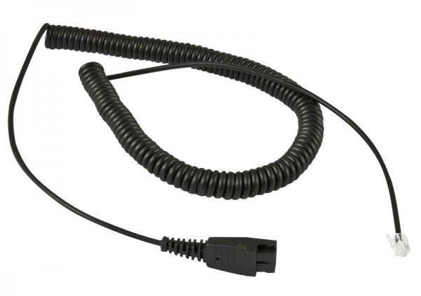 Plusonic Zubehör Kabel für Jabra QD-RJ9, Regelbelegung