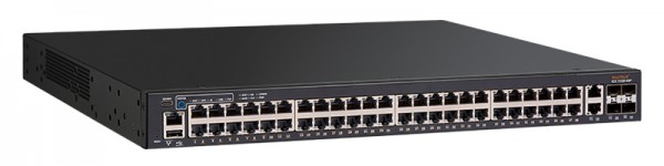 Ruckus Networks ICX 7150 Switch 48x 10/100/1000 PoE+ ports, 2x 1G RJ45 uplink-ports, 4x 10G SFP+ uplink-ports, 370W PoE