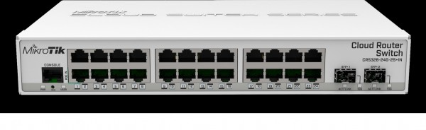 MikroTik Cloud Router Switch CRS326-24G-2S+IN, 24x Gigabit, 2x SFP+