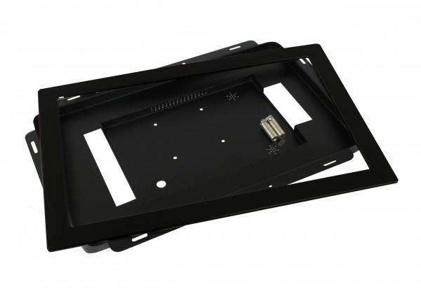 ALLNET Touch Display Tablet 15,6 Zoll zbh. Einbauset Einbaurahmen + Blende Schwarz Schmal