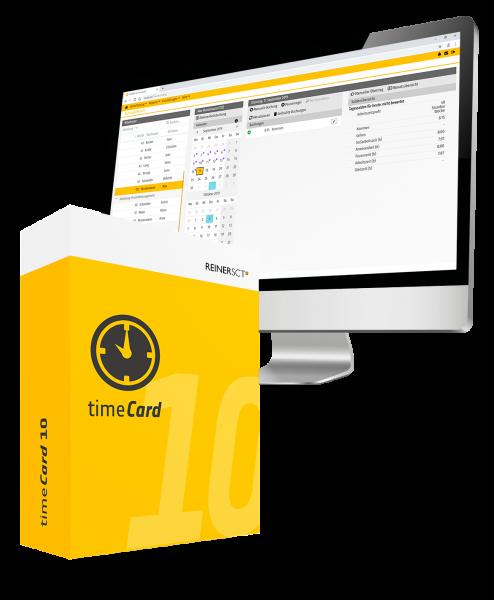 REINER SCT timeCard 10 - Basisversion ohne Laufzeitbeschränkung - ESD