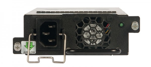 Ruckus Networks ICX Switch zub. ICX7450/6610 POE 1000W AC PSU, intake airflow, back to front airflow