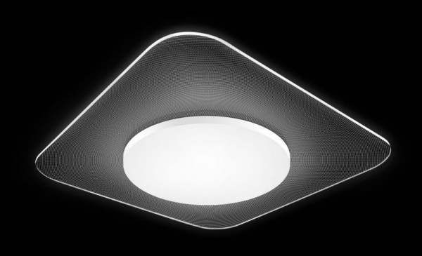 Synergy 21 LED Rundleuchte transparent 18W QL ww