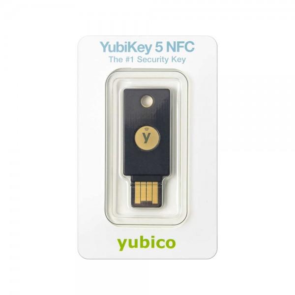 YubiKey 5 NFC in Retailverpackung