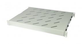 """ALLNET 19""""zbh. Fachboden fest, für 1000mm Schrank tiefe, 1HE, Lichtgrau, t750-850mm"""
