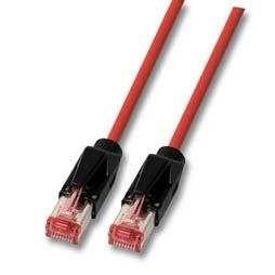 Patchkabel RJ45, CAT6 900Mhz; 5m rot, S-STP(S/FTP)-PUR, ND-UC900+TM21, Industrietauglich(PUR),