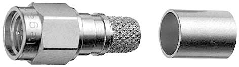 Telegärtner Koax, SMA-Kabelstecker Cr/Cr Au