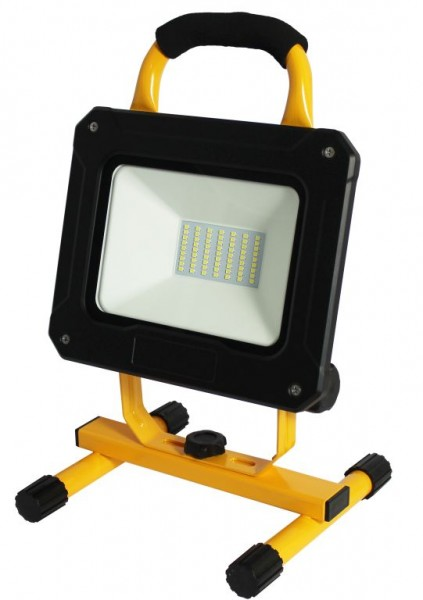 Synergy 21 LED AKKU Baustrahler 50W gelb/cw Bosch kompatibel