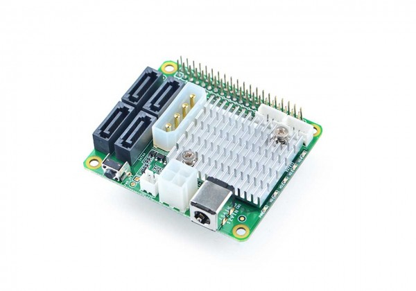 FriendlyELEC NanoPi M4 - zbh. 4x SATA HAT for NanoPi M4