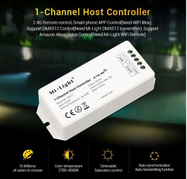 Synergy 21 LED Subordinate Controller 1-Channel Host *Milight/Miboxer*