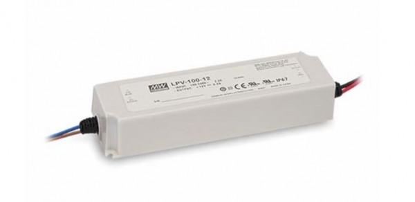 Mean Well Netzteil - 12V 100W IP67